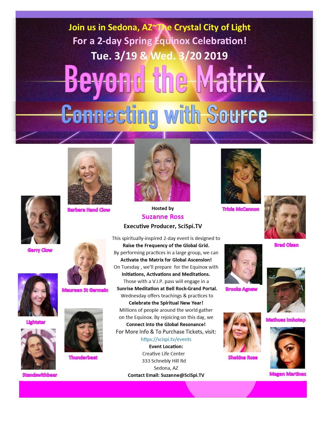 Beyond the Matrix flyer Original