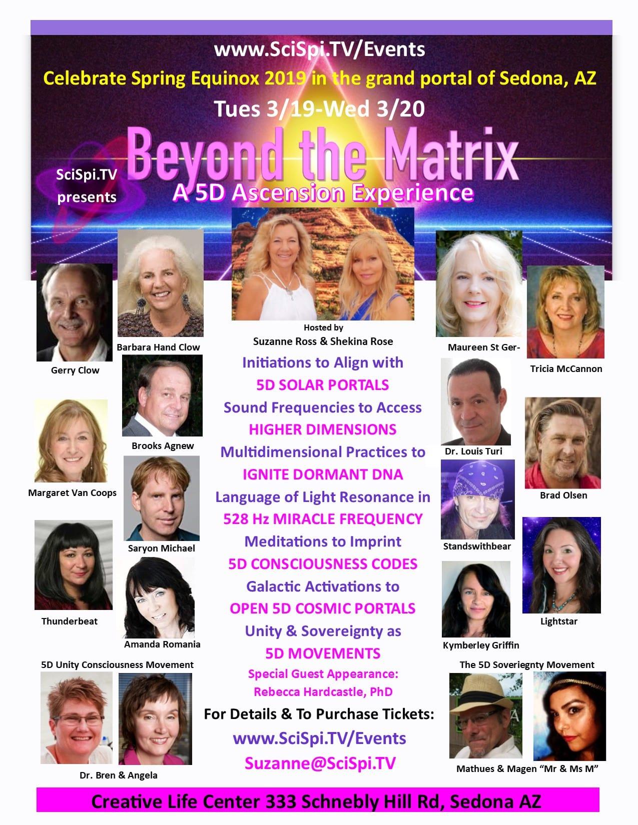 Newest Beyond the Matrix Flyer 11-01
