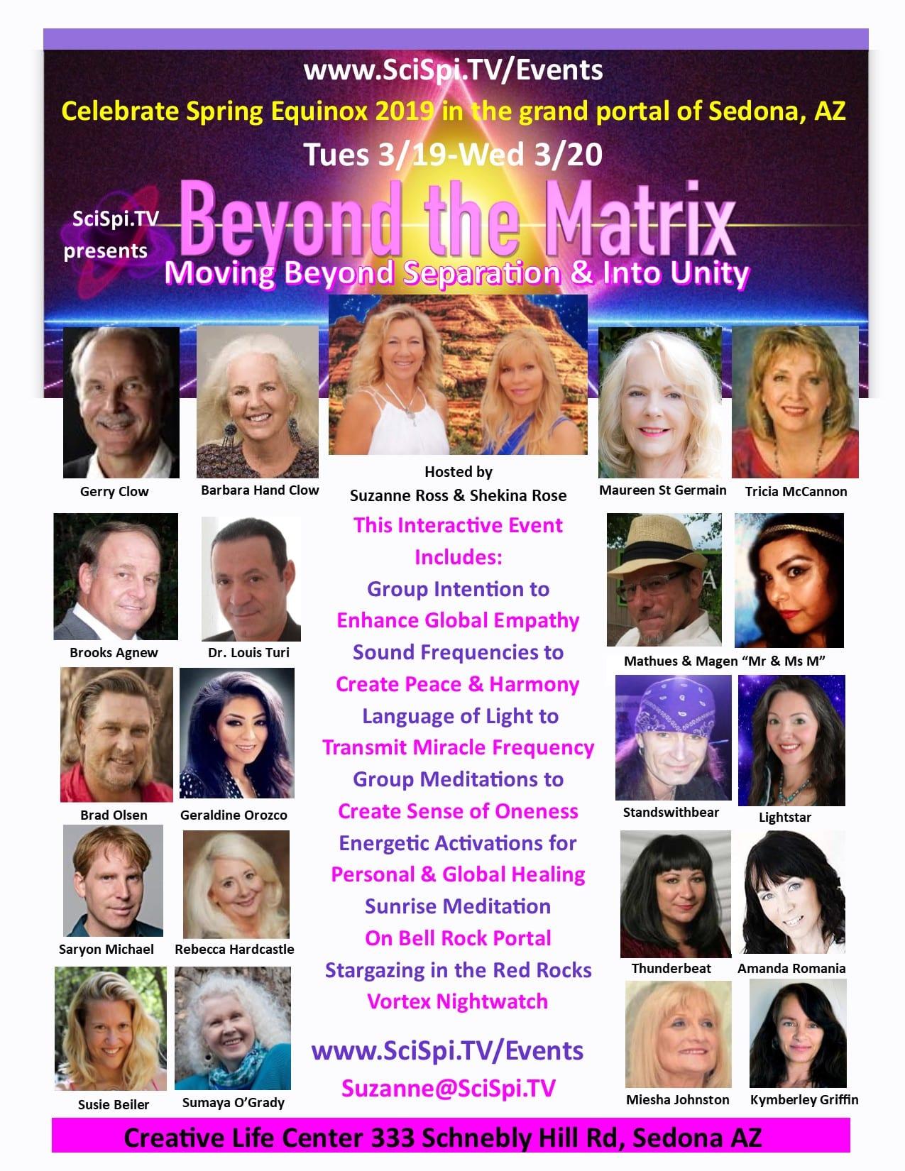 Beyond the Matrix Unity Flyer