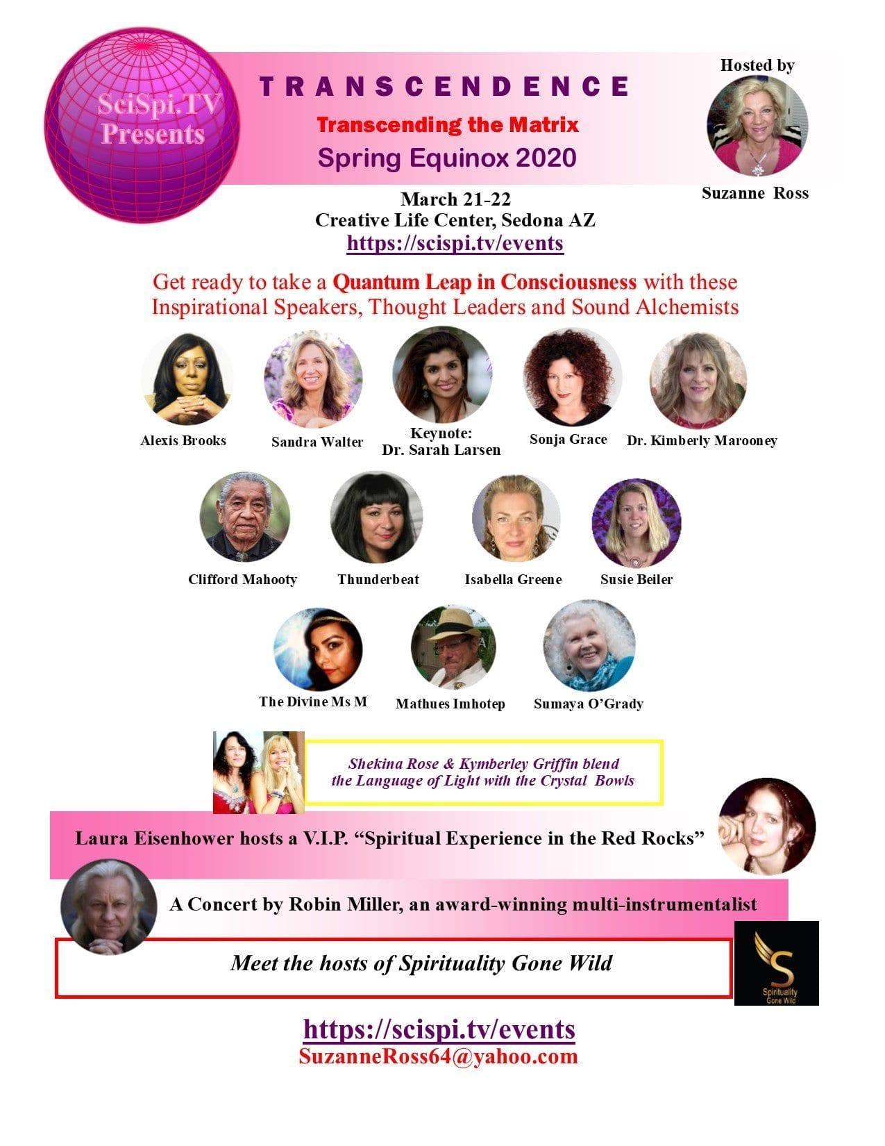 Transcendence Flyer Spring Equinox 2020