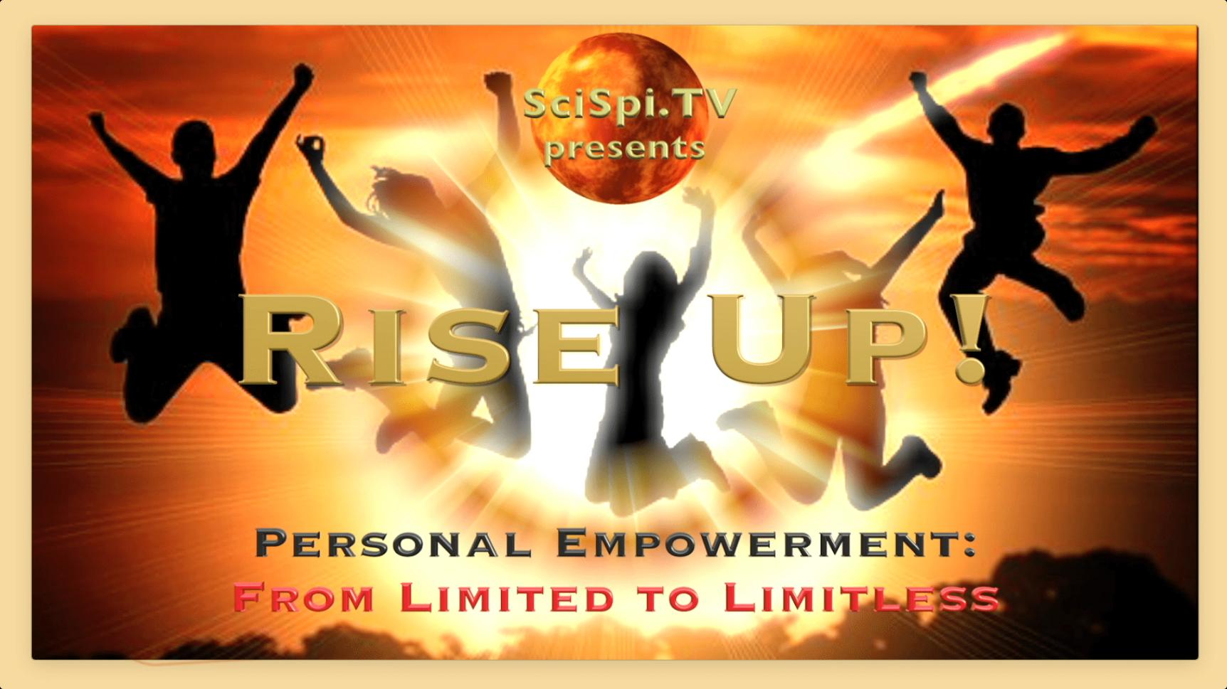 Rise Up Logo Border