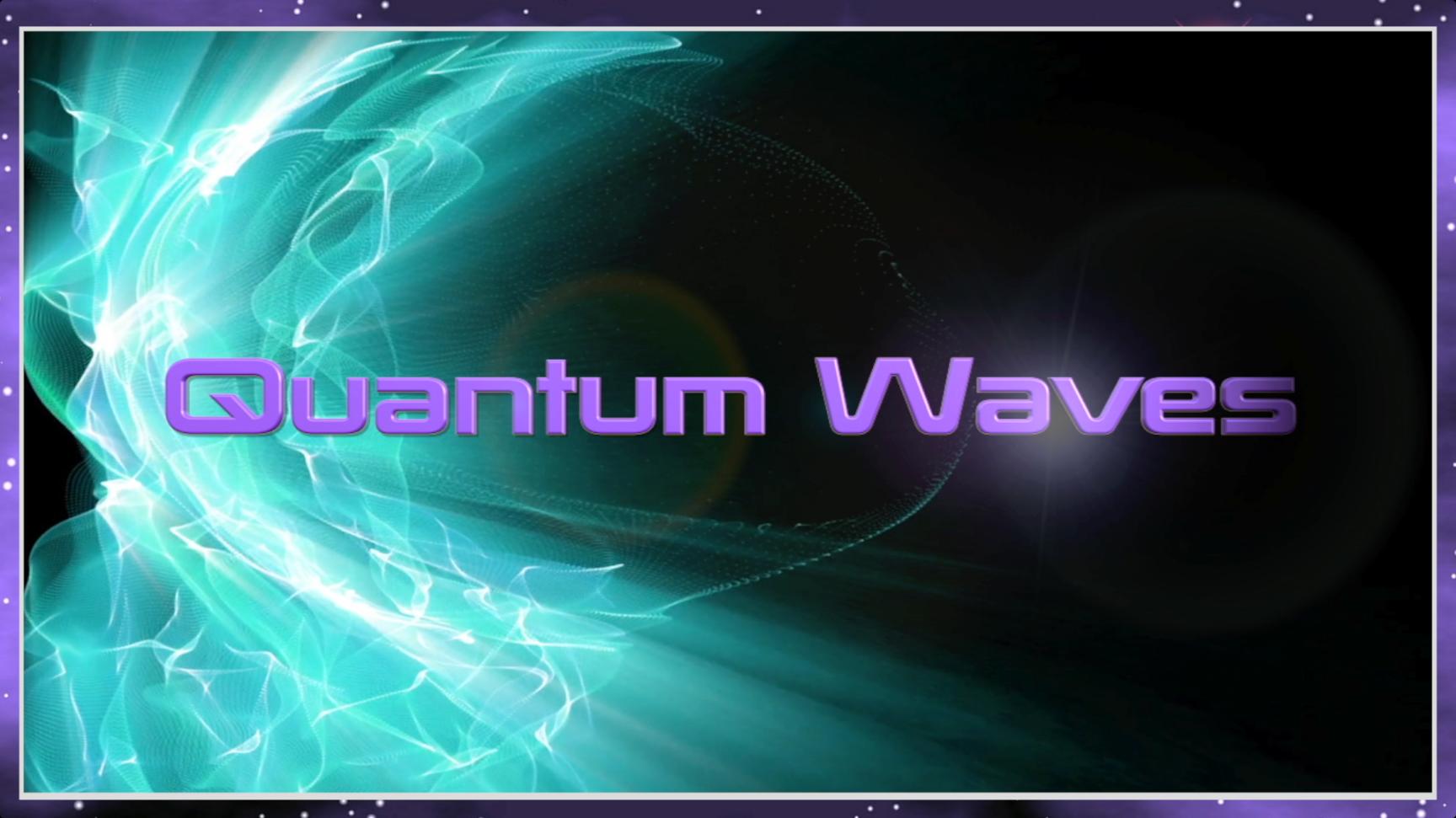 Quantum Waves Logo