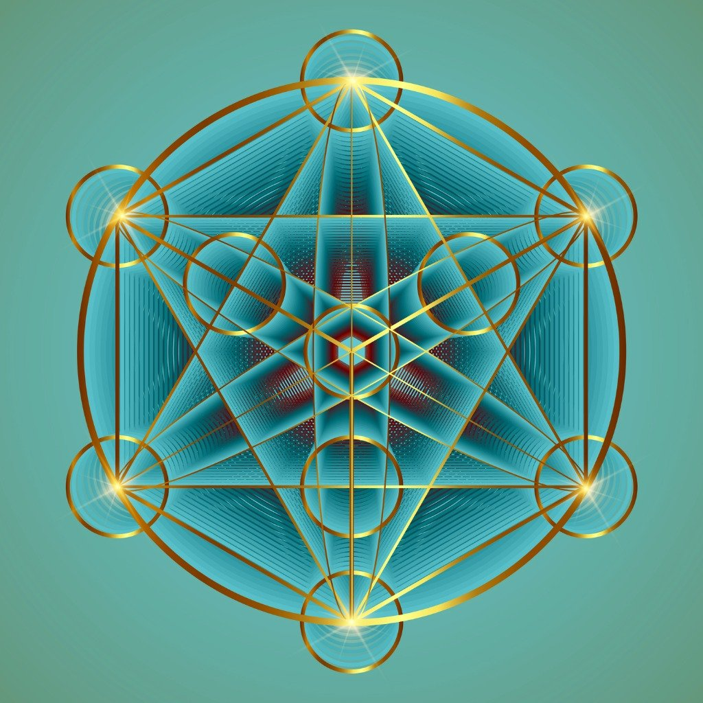 alchemy-occult-mandala-metatrons-cube-flower-of-life-gold-sacred-vector-id1298196188